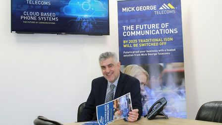 A record turnover of more than £1 million is expected to be hit by the telecoms division of the Mick