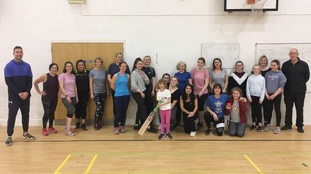 City of Ely Cricket Club are now holding women's sessions. Picture: CITY OF ELY CC