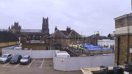 A time-lapse video has showed the progress of Ely Museum's £1.66 million renovation. Picture: ELY MU