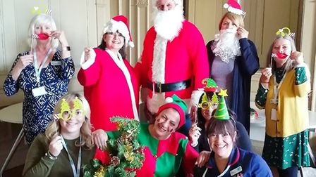 Staff and volunteers at Sue Ryder Thorpe Hall Hospice raised over £20,000 from their Christmas fayre
