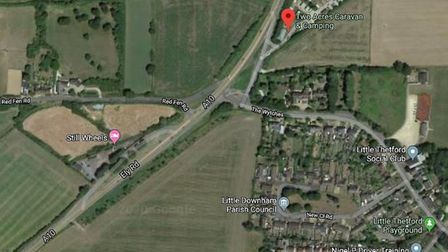 A traveller camp to house a family - who had to leave Smithy Fen after their caravan was burnt out -