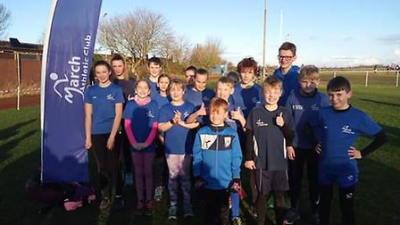 March Athletics Club welcomed runners for the fourth Frostbite League meeting of the season. Picture