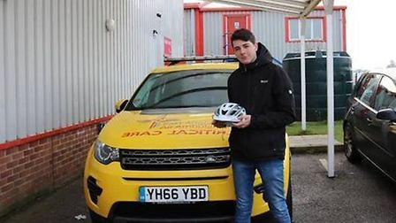 Haydn's Law and the Wear A Helmet campaign has been launched after Haydn Garrod survived a major bra