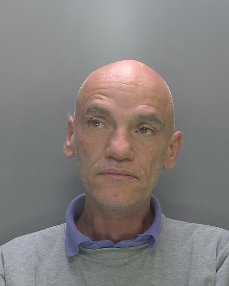 A suspected drug dealer Phillip Keary (pictured) was found with Kinder eggs filled with drugs outsid
