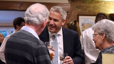 """Some months ago MP Steve Barclay hosted a 'pint and politics' evening at Elgood's brewery. """" And con"""