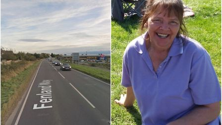 A man who killed cyclist Hilary Cox on the A141 near Chatteris by driving his lorry into her while o