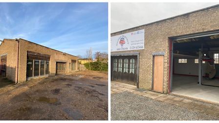 Jamie Coombs is launching his March Fast fit and Servicing garage on Creek Road. Here are images of
