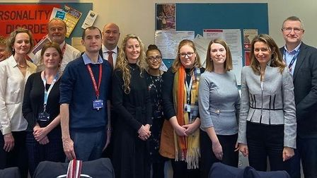 Lucy Frazer MP joined Cambridgeshire businesses and charities at the rehabilitation event in Cambrid