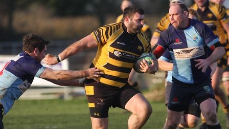 An injury-hit Ely Tigers were edged out at Fakenham in their latest London 3 Eastern Counties League
