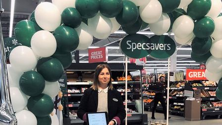 Jade Jozunas, supervisor of Specsavers Ely Lisle Lane Sainsburys, is encouraging more people to cons