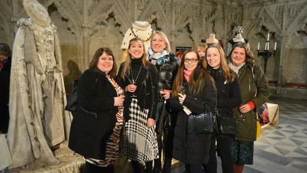 Hollywood glamour comes to Ely Cathedral in the shape of Crown & Gowns exhibition. Pictures: MIKE RO