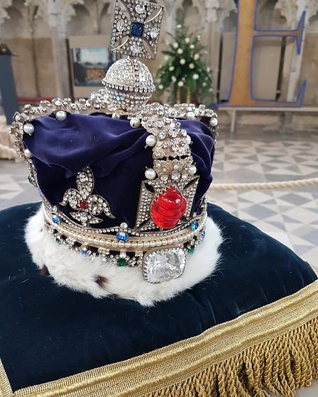 Hollywood glamour comes to Ely Cathedral in the shape of Crown & Gowns exhibition. Pictures: ELY CAT