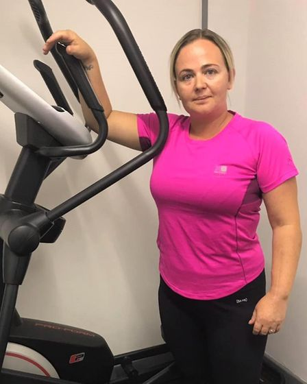 A fitness instructor from March - who turned her life around after being diagnosed with a tumour - h