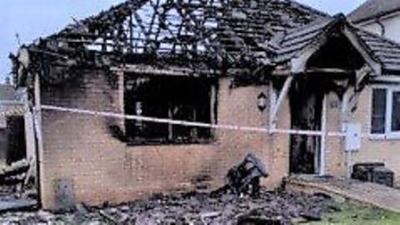 Two hero members of the public rescued their neighbour from a burning bungalow in Stretham on Friday