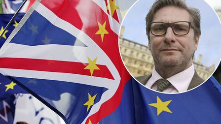 Mayor James Palmer wants to boost support for businesses after Brexit. Picture: PA/PA Wire/Twitter/J