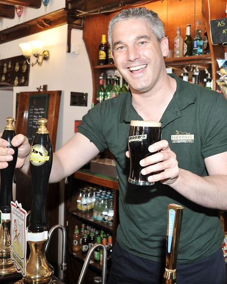 fLASHBACK: To the day some years ago when MP Steve Barclay did a stint as a barman at the Red Lion,