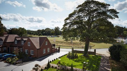 Welcombe House overlooks Harpenden Common. Picture: Fairview New Homes