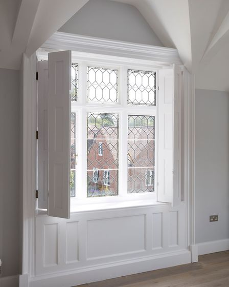 Period features, including this window, have been retained. Picture: Fairview New Homes