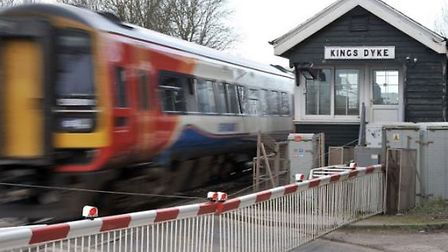 Work on the Kings Dyke level crossing has been delayed until at least the end of 2022. Picture: ARCH