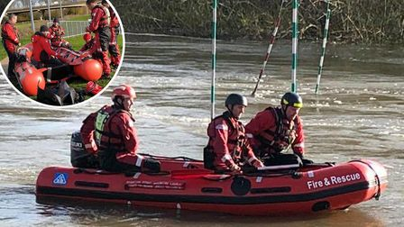 Images of the new rescue boats for Cambridgeshire Fire and Rescue Service. Picture: Supplied/CambsFR