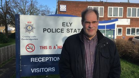 Lib Dem candidate for police and crime commissioner Rupert Moss-Eccardt wants Ely Police Station to
