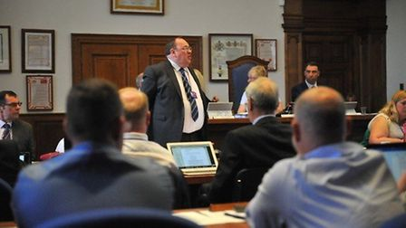 Cllr Chris Boden, leader of Fenland District Council, has announced a tax freeze for the sixth time
