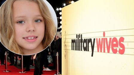 Kings Ely pupil Florence Langner-Yeates (pictured) will appear in the new feature film Military Wive