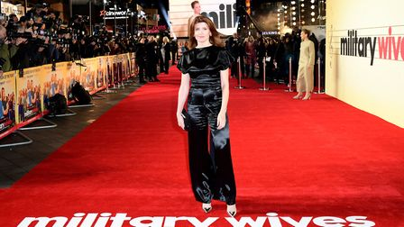 Sharon Horgan attending the Military Wives UK premiere held in Leicester Square, London. Picture: Ia