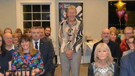 Dozens of people attended the launch of the Ely Hero Awards 2020 at Poets House on Monday March 2 as