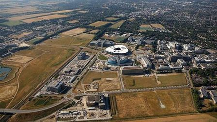 Cambridge South: The biomedical campus at Cambridge where a new rail station is to be built quicker