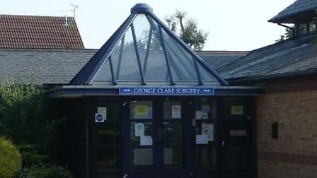 """George Clare Surgery in Chatteris is """"closed for cleaning"""" this morning amid the coronavirus outbrea"""