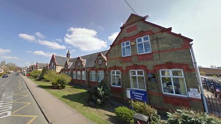 The man allegedly attempted to speak with two children on Gaul Road, March near Burrowmoor Primary S