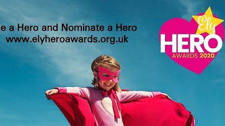 Ely Hero Awards organisers want you to unleash your superpowers and nominate a local hero. Picture: