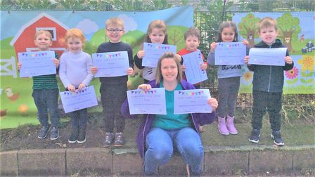 Nine pupils at St John's Preschool in Ely will have their first ever poems published inside a book.