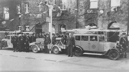 From the archives, the Cock Inn, March, during the 1930s, early 40s. The photo was shared on the Mar