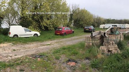 Traveller's planning appeal for eight caravans has been refused by the planning inspectorate.