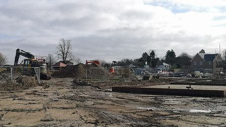 Work to build Cambridgeshire and Peterborough's first £100,000 homes is now underway at the Rayners