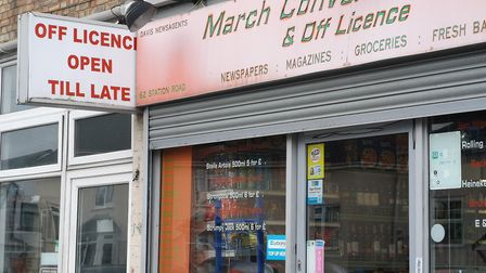 March Convenience Store and Off Licence. Picture: Harry Rutter
