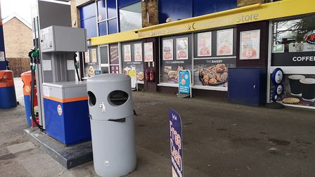 March Service Station and Convenience Store. Picture: Harry Rutter