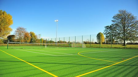 The new Estover playing field in March. Picture: HARRY RUTTER