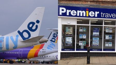 Premier Travel in Ely (pictured) says holiday makers are '100 per cent financially protected' follow