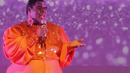 Latrice Royale takes to the stage. Picture: Harry Rutter/ARCHANT