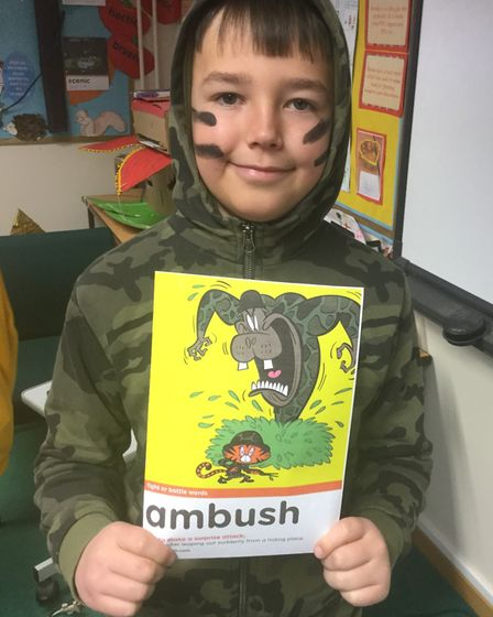 Pupils at All Saints Inter-church Academy in March taking part in World Book Day 2020. Picture: Supp