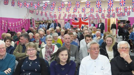 Last Night of the Proms at Whittlesey with RAF Wyton band. Picture; RWT PHOTOGRAPHY