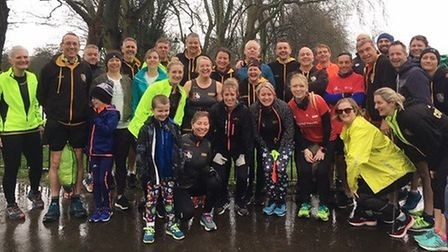 Three Counties Running Club powered through the poor weather to leap to success, including at the Ki
