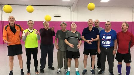 Whittlesey Walking Football Club received a lottery grant to help develop the club for future genera