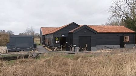 The Docky Hut Café has re-opened at Wicken Fen Nature Reserve. Picture: Archant