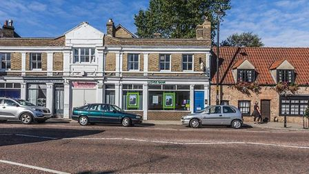 Former Lloyds Bank, Chatteris, that was offered for sale for £100,000. Nick Leeding wanted to turn i