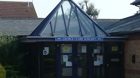 George Clare Surgery in Chatteris to re-open following this morning's closure. It was closed for sev