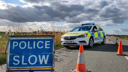 Collision at Upwell Road, March, on Monday March 2 2020.